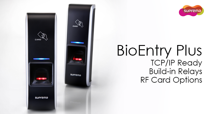 Suprema BioenTry Plus L