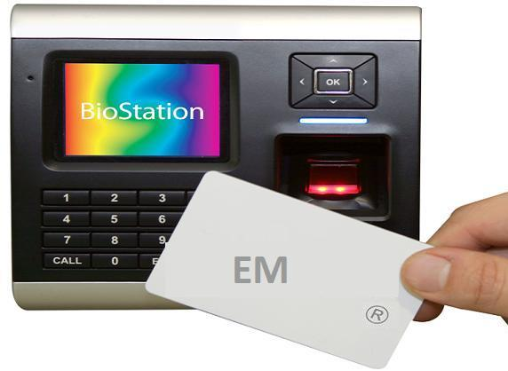 Máy chấm công vân tay Suprema Biostation Wireless