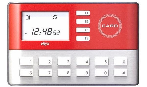 Máy chấm công bằng thẻ VIRDI AC-1000