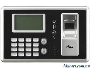 Máy chấm công vân tay + thẻ + mật mã VIRDI AC-4000