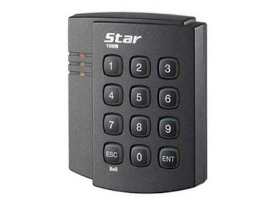 Máy chấm công bằng thẻ và mã PIN IP100R