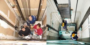 công tác kiểm định chất lượng thang máy