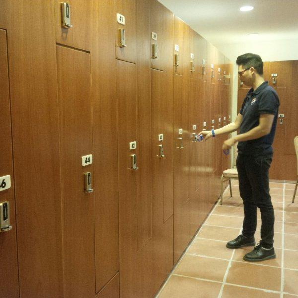 Khóa tủ locker cho phòng tập gym