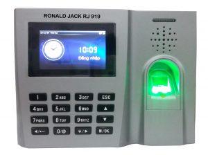 Máy chấm công vân tay Ronald jack 919