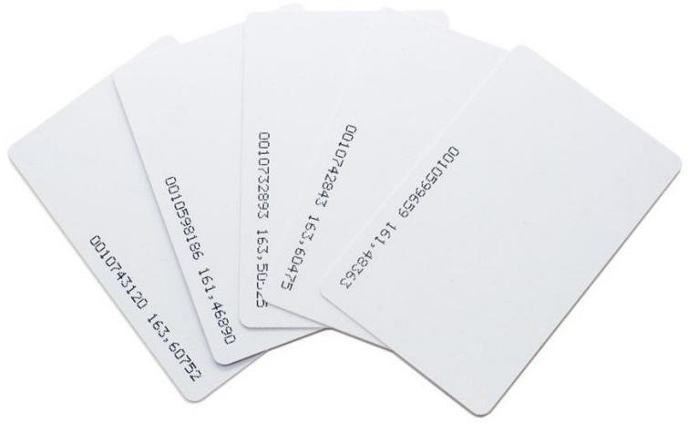 Thẻ từ trắng 0.78mm