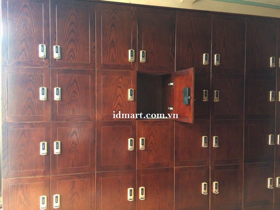 Tủ khóa locker 01A được lắp đặt tại Đức Huy Plaza